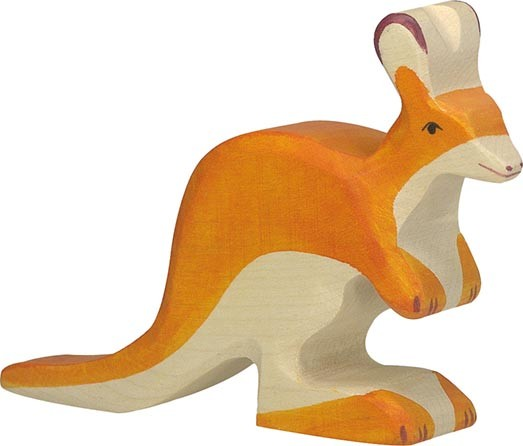 Holztiger Känguruh klein