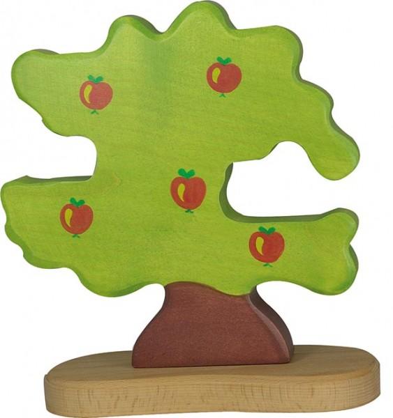 Holztiger Apfelbaum für Vögel