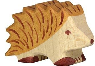 Holztiger Igel