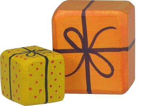 Holztiger 2 Geschenkpakete