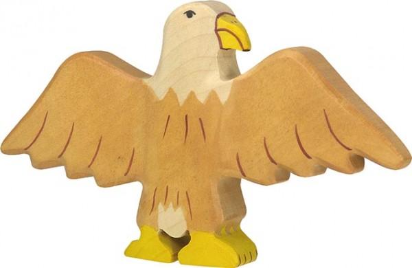 Holztiger Adler