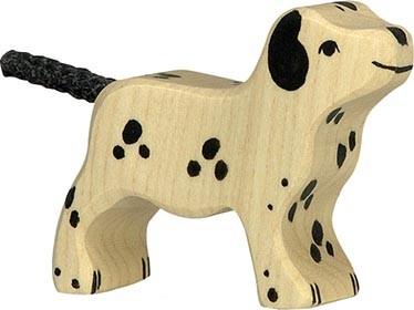 Holztiger Dalmatiner stehend klein