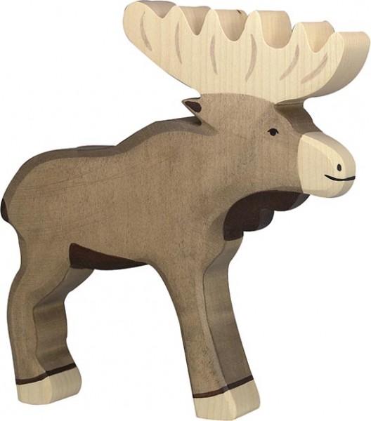 Holztiger Elch