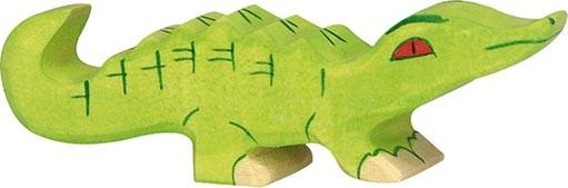 Holztiger Krokodil klein