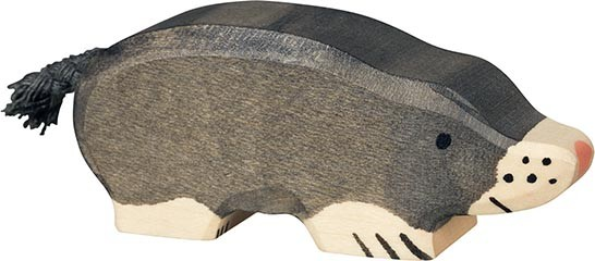 Holztiger Maulwurf