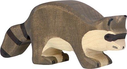 Holztiger Waschbär