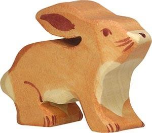 Holztiger Hase klein