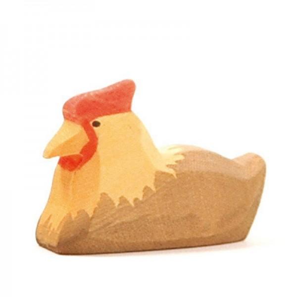 Ostheimer Huhn braun liegend 13122