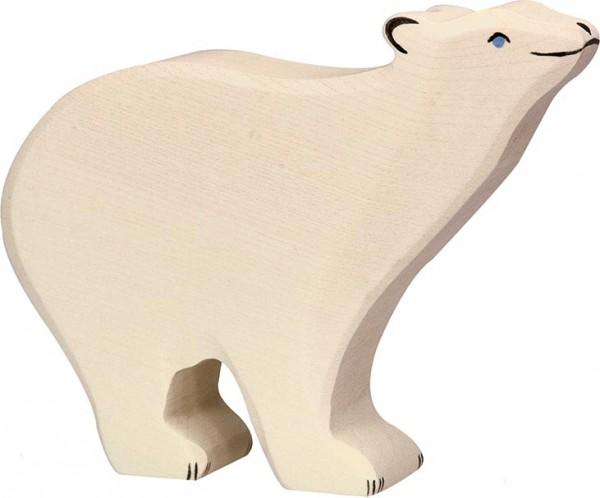 Holztiger Eisbär