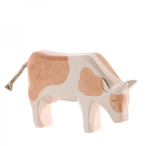 Ostheimer Kuh braun fressend 11023