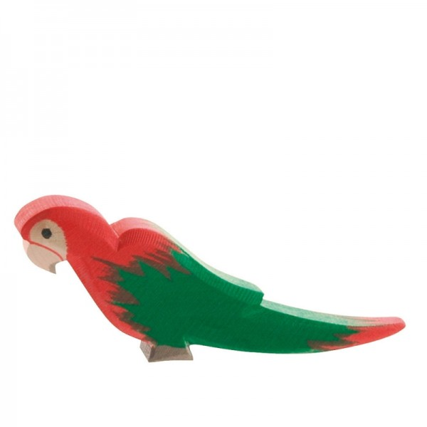 Ostheimer Papagei rot 21402