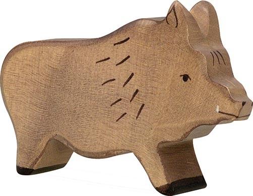 Holztiger Wildschwein Eber