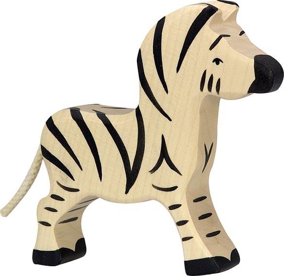 Holztiger Zebra klein