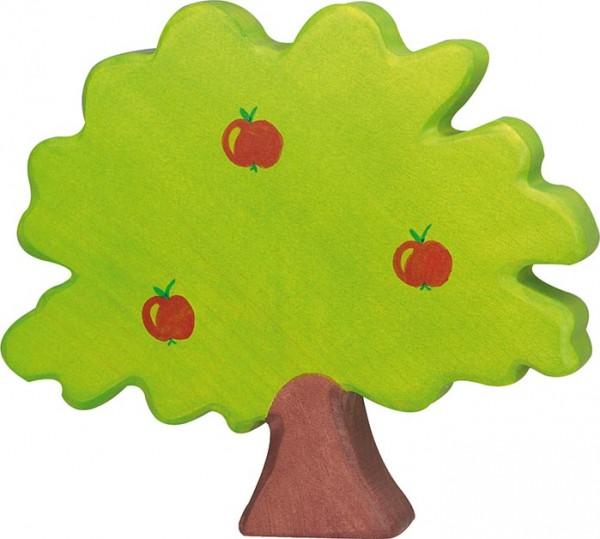 Holztiger Apfelbaum