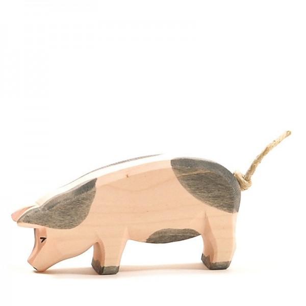 Ostheimer Schwein gefleckt tief 10952