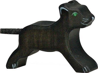 Holztiger Panther klein