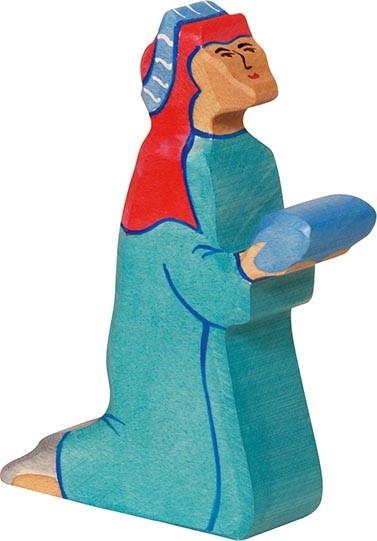 Holztiger Balthasar 2 blau