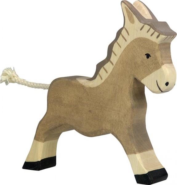 Holztiger Esel laufend