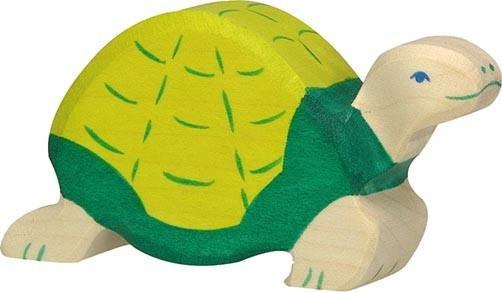Holztiger Schildkröte