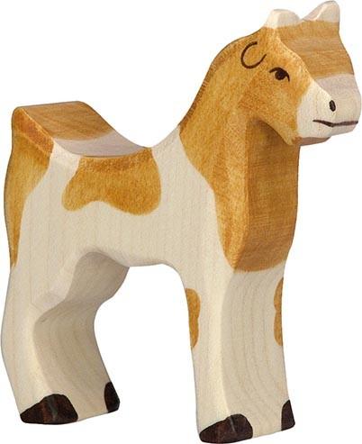 Holztiger Ziege