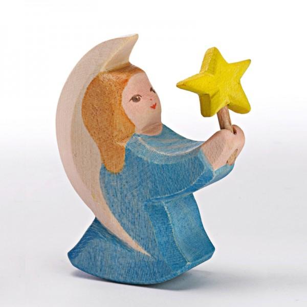 Ostheimer Engelchen blau mit Stern 42024